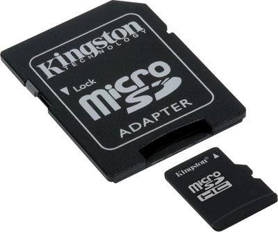 Memoria micro SD 16GB  Kingston micro SDC4/16GB class 4 #friki #android #iphone #computer #gadget