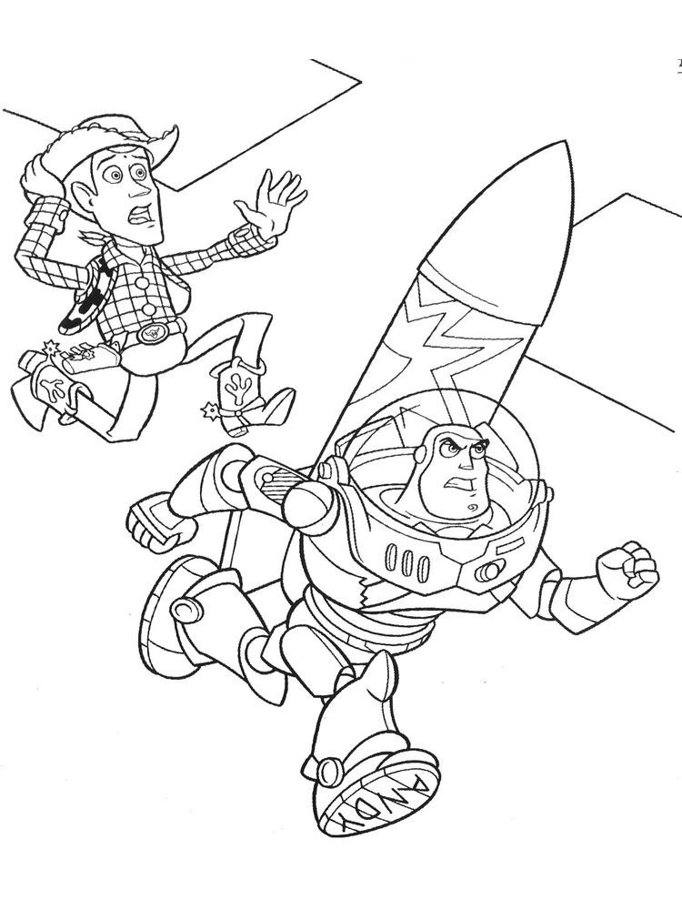 Toy Story Buzz Lightyear Coloring Pages Ducky And Bunny Were Seen In A Playground While Talking About Buzz Lightyear Toy Story Buzz Lightyear Toy Story Movie