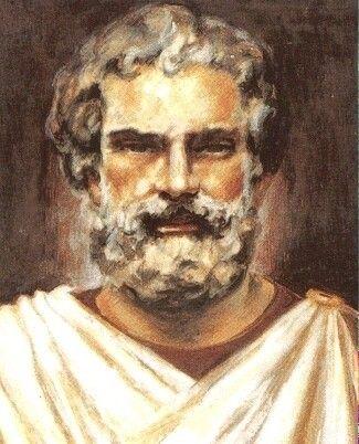 """Mileto fue el primer filósofo griego que intentó dar una explicación física del Universo. Lo importante de su tesis: todo ser proviene de un principio originario, sea el agua, sea cualquier otro. Es el """"padre de la filosofía"""", porque lo busca de una forma científica."""