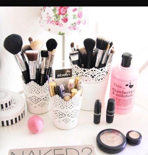 Makeup Organization By Camya Spencer On Make Up Makeup