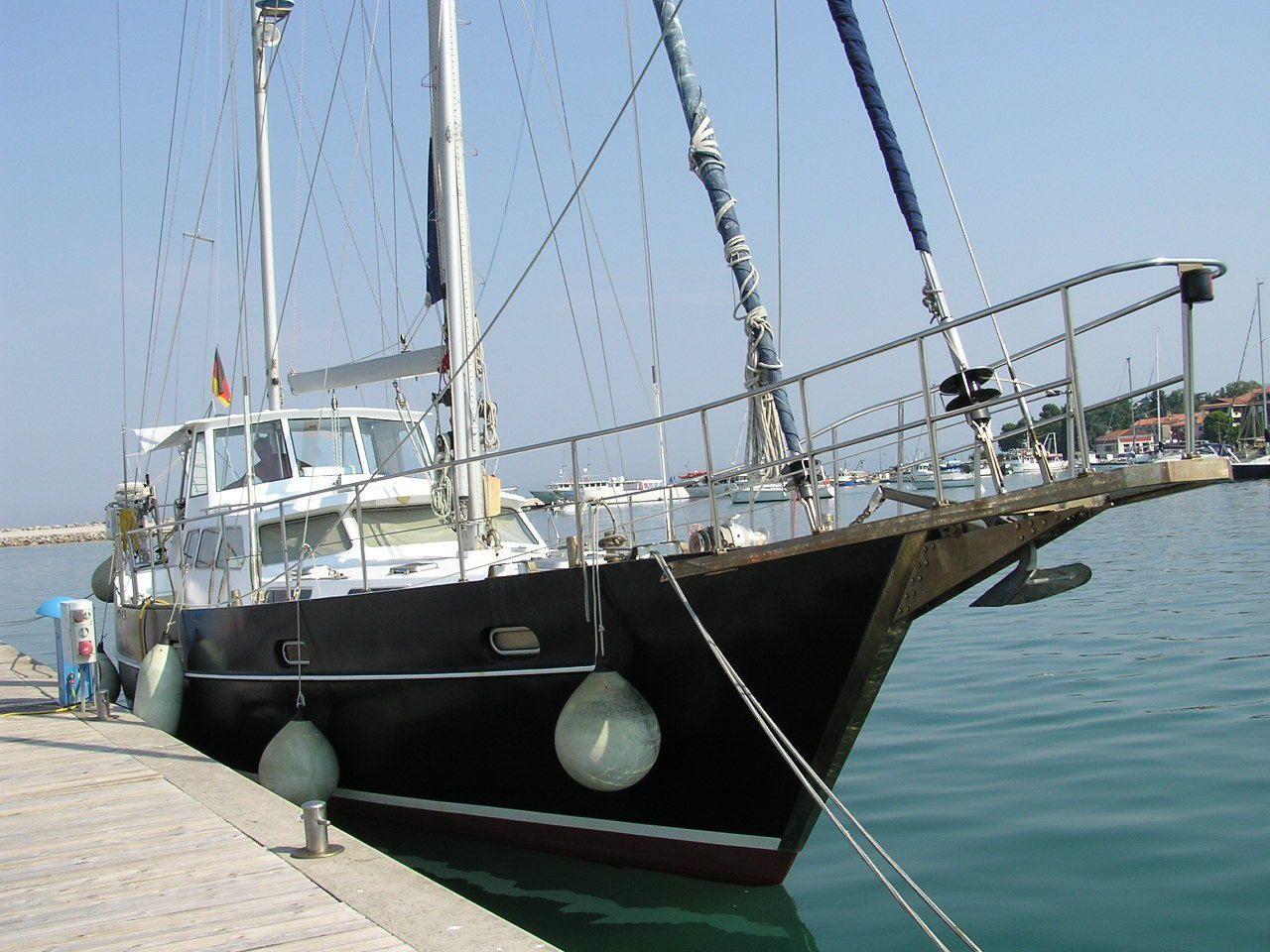 Segelyacht Ketch Stahl 16m Zustand top, Preis VB | eBay | absoluter ...