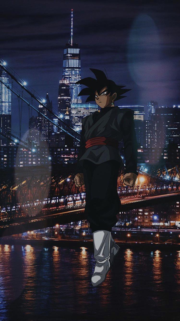 Big City Goku Black Dragon Ball Artwork Anime Dragon Ball Super Dragon Ball Wallpapers