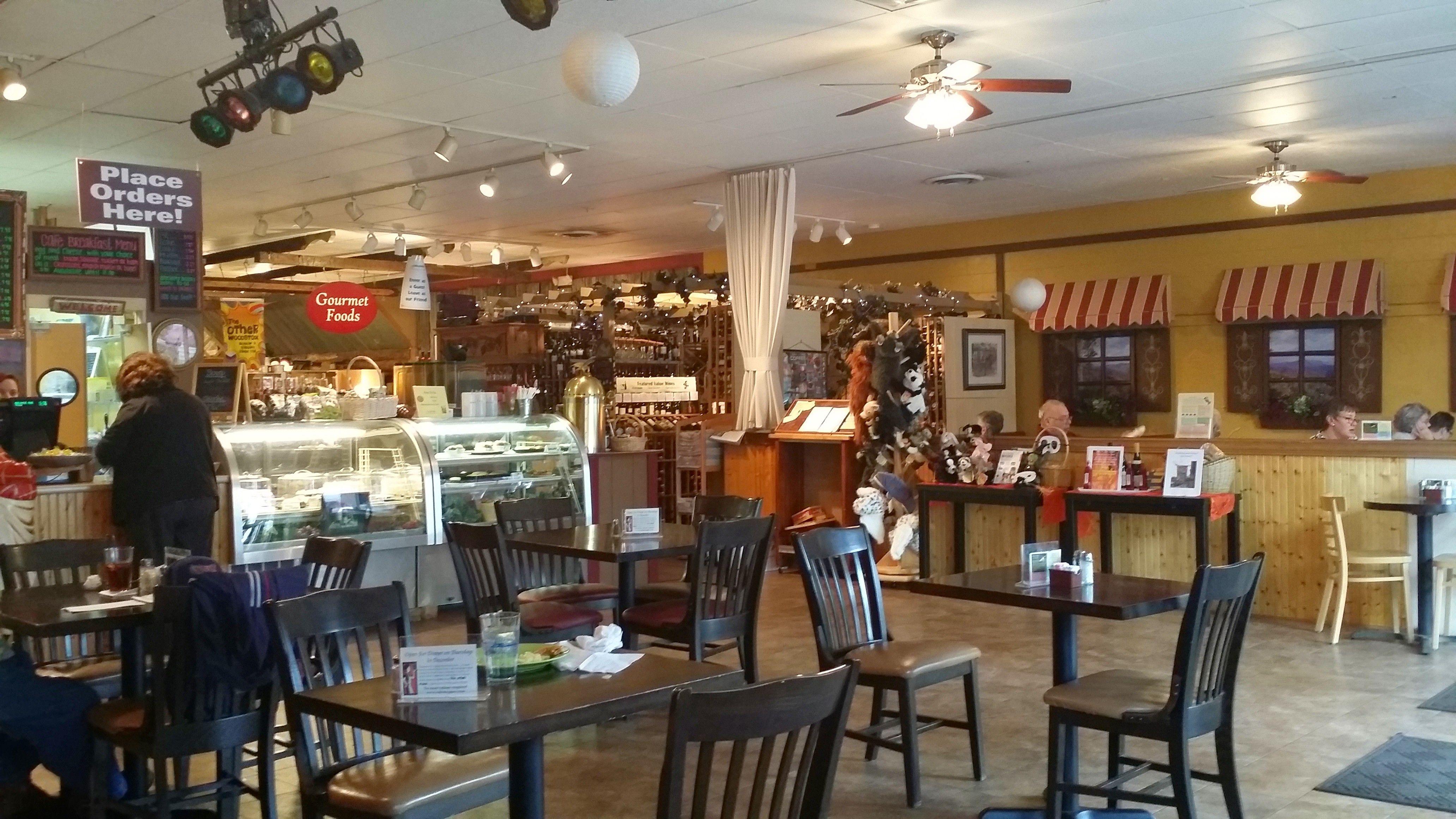 Woodstock Cafe Shoppes Woodstock Va Great Food Interesting Shop