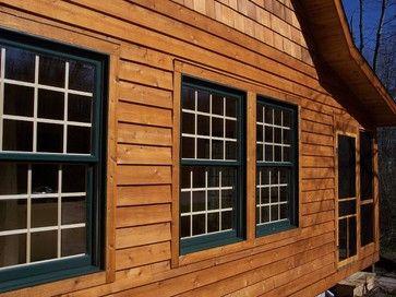 Exterior Cedar Lap Siding Cedar Lap Siding Log Cabin Exterior House Exterior