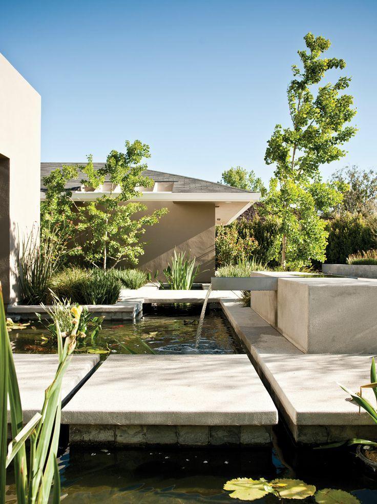 Mark Tessier Landscape Architecture / Copses Residence, Santa Monica  #residentiallandscapearchitecture. Private GardenWater ...