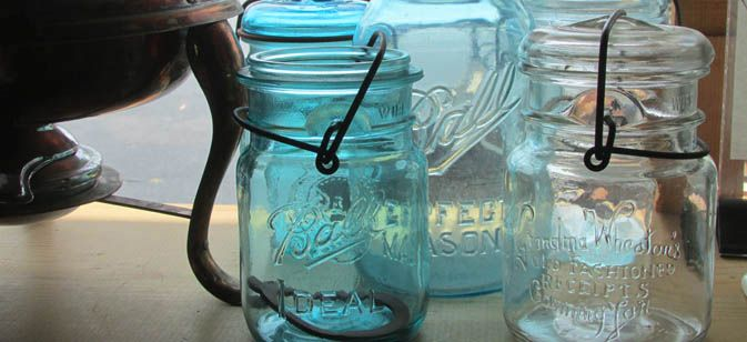 If you find a Ball Jar stamped with the #13 on the bottom