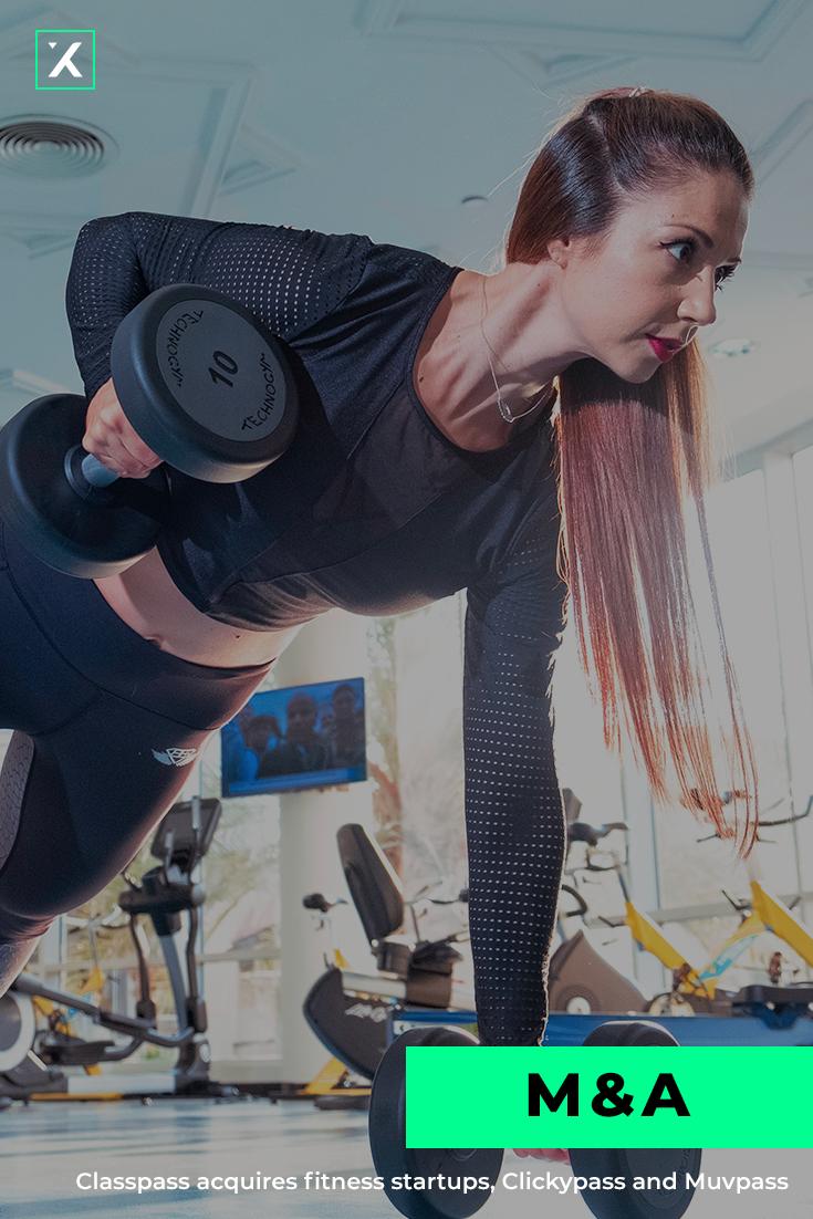 Classpass Acquires Fitness Startups Clickypass And Muvpass Start Up Classpass Fitness