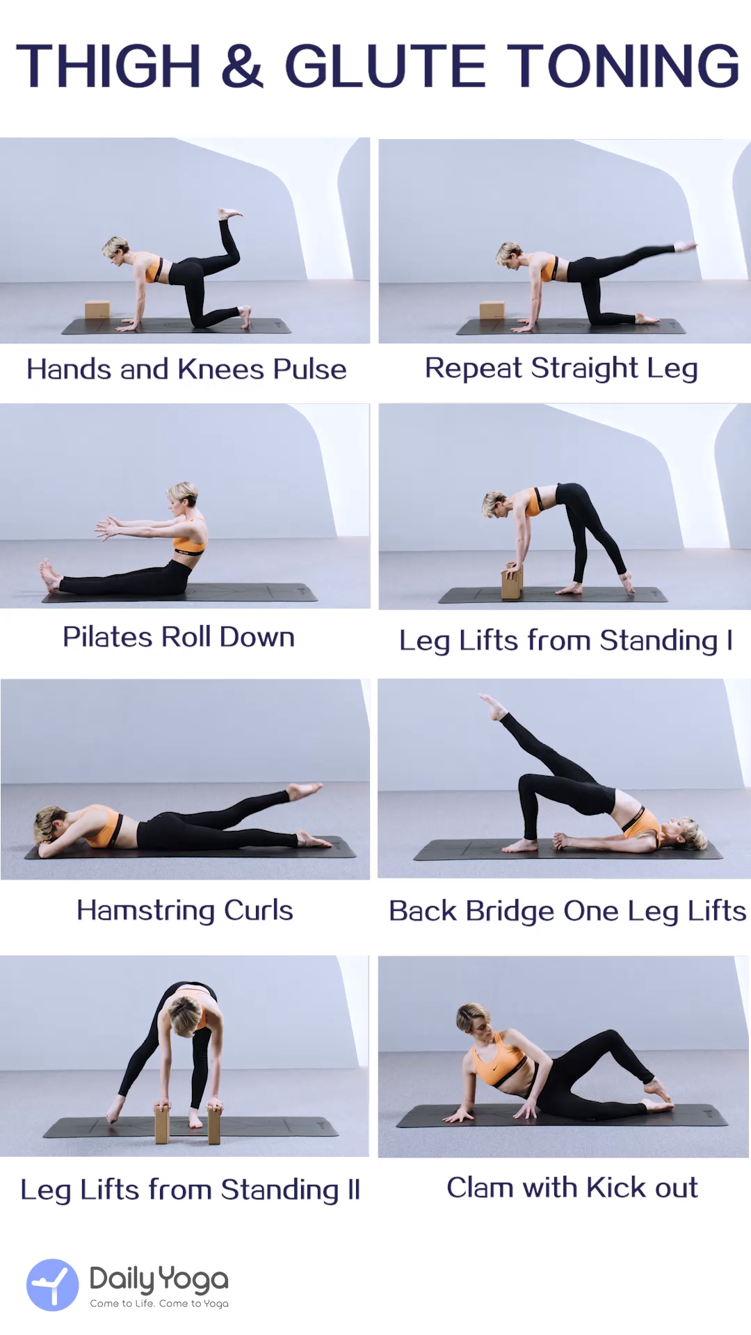 DailyYogaApp|Thigh & Glute Toning