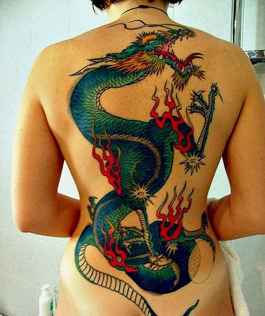 Beautifulbludragon Back Tattoo Ink D Pinterest Tatouage