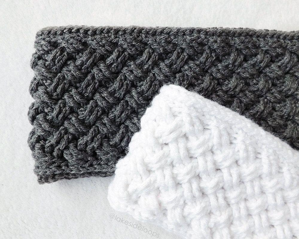 Crochet Pattern Bentley Crochet Head Warmer by by LakesideLoops ...