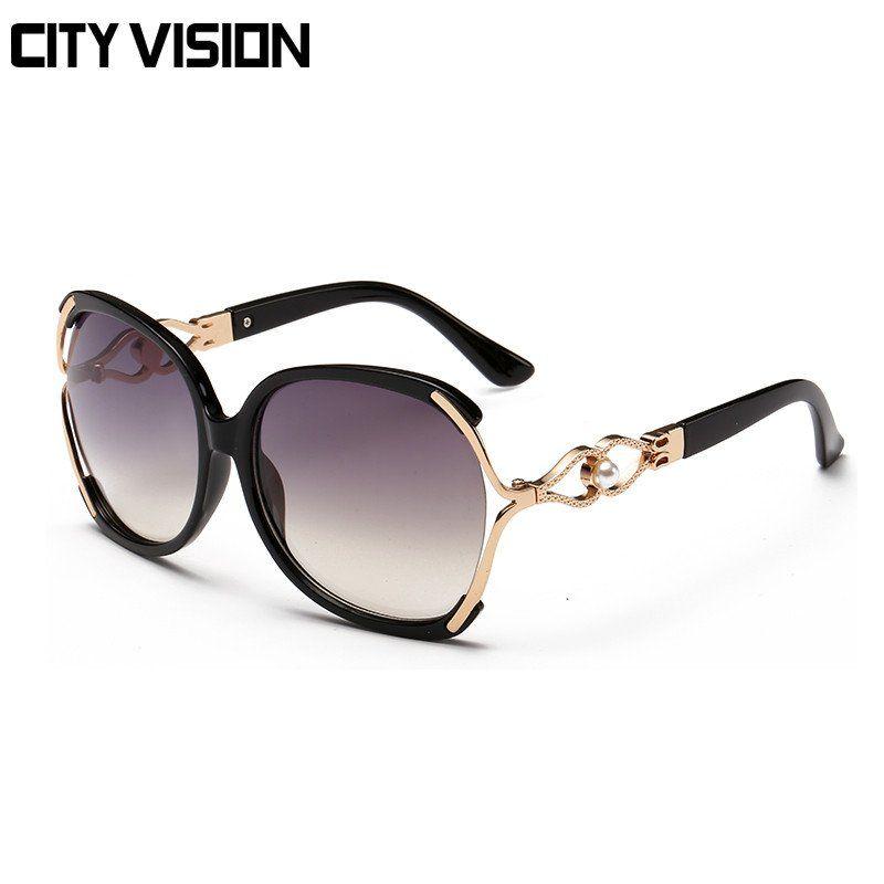 Affordable Luxury Designer's Large Frame Women Sunglasses WDSG130
