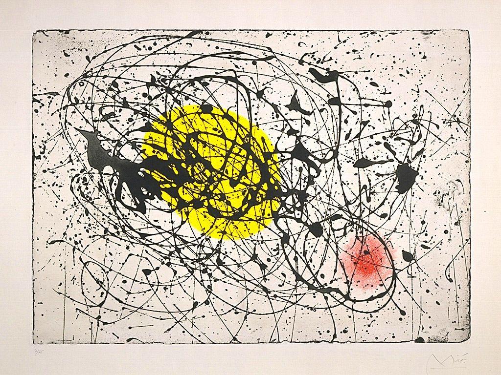 Miro, Yellow Moon Bird