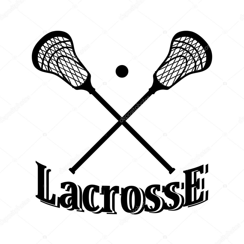 Girl Lacrosse Clipart