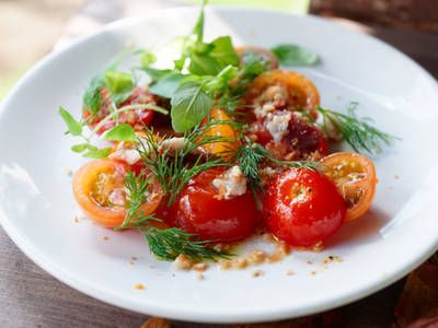 Ripe Cherry Tomato Salad