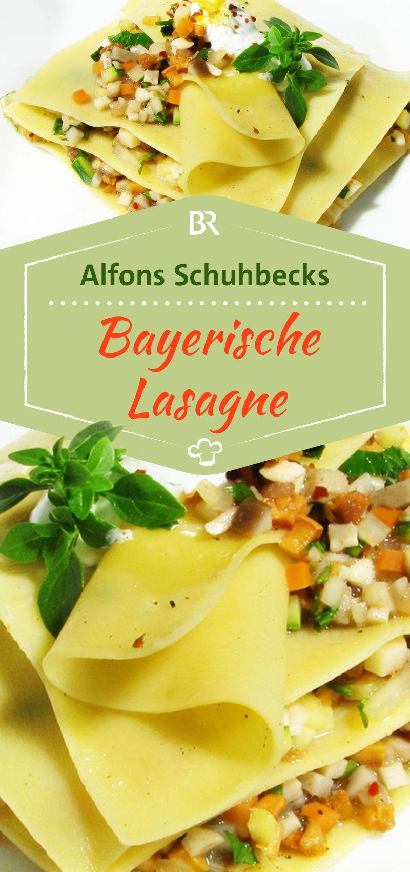 Schuhbecks - Meine bayerische Kochschule: Bayerische Lasagne ...