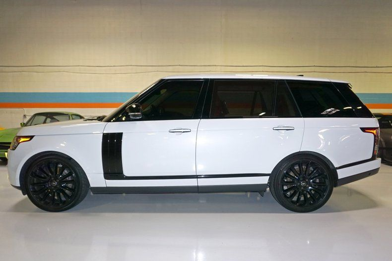 2017 Land Rover Range Rover V8 Supercharged Autobiography Lwb For Sale 66707 Motorious Range Rover Vogue Autobiography Range Rover V8 Range Rover For Sale