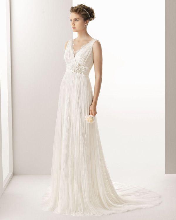 colección soft de vestidos de novia de rosa clará 2014 #boda