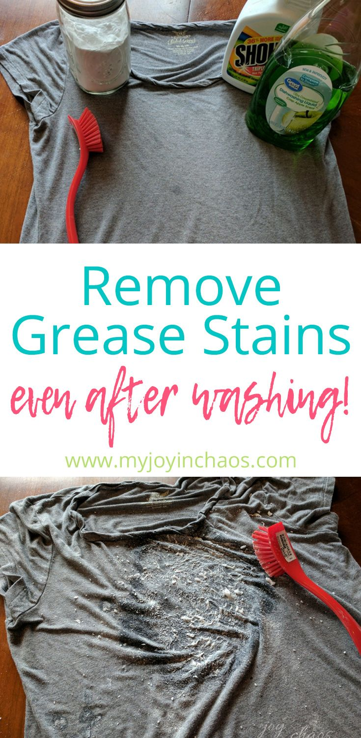 how to remove grease stains from dry clean only