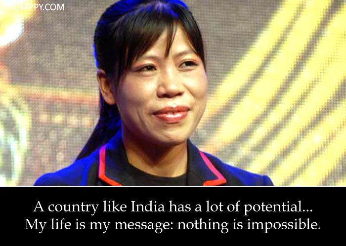 10 Quotes by Mary Kom That Will Motivate You to Never