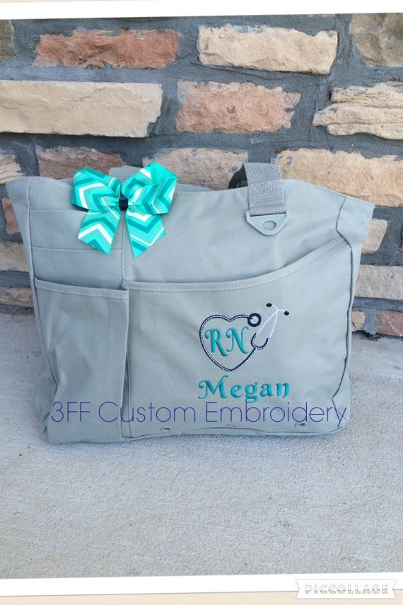 Personalized Or Monogrammed Nurse Doctor By 3ffcustomembroidery