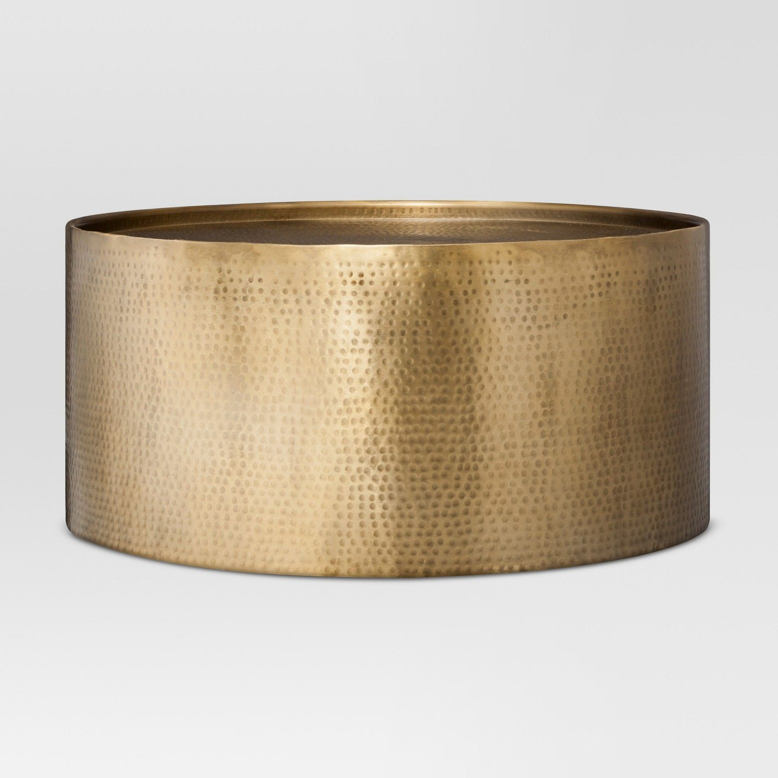 Manila Hammered Barrel Coffee Table Brass Project 62 Barrel Coffee Table Barrel Coffee Gold Coffee Table