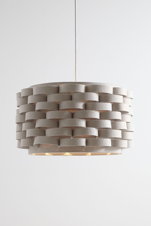 Loopy Felt Drum Shade Light   Easy Fit Ceiling Lights   Lighting ...