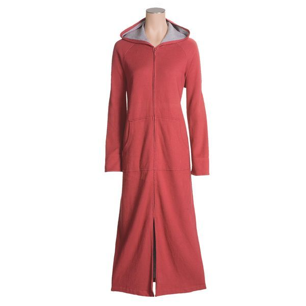 Specially made Cotton Zip Hooded Robe (For Women) Robe