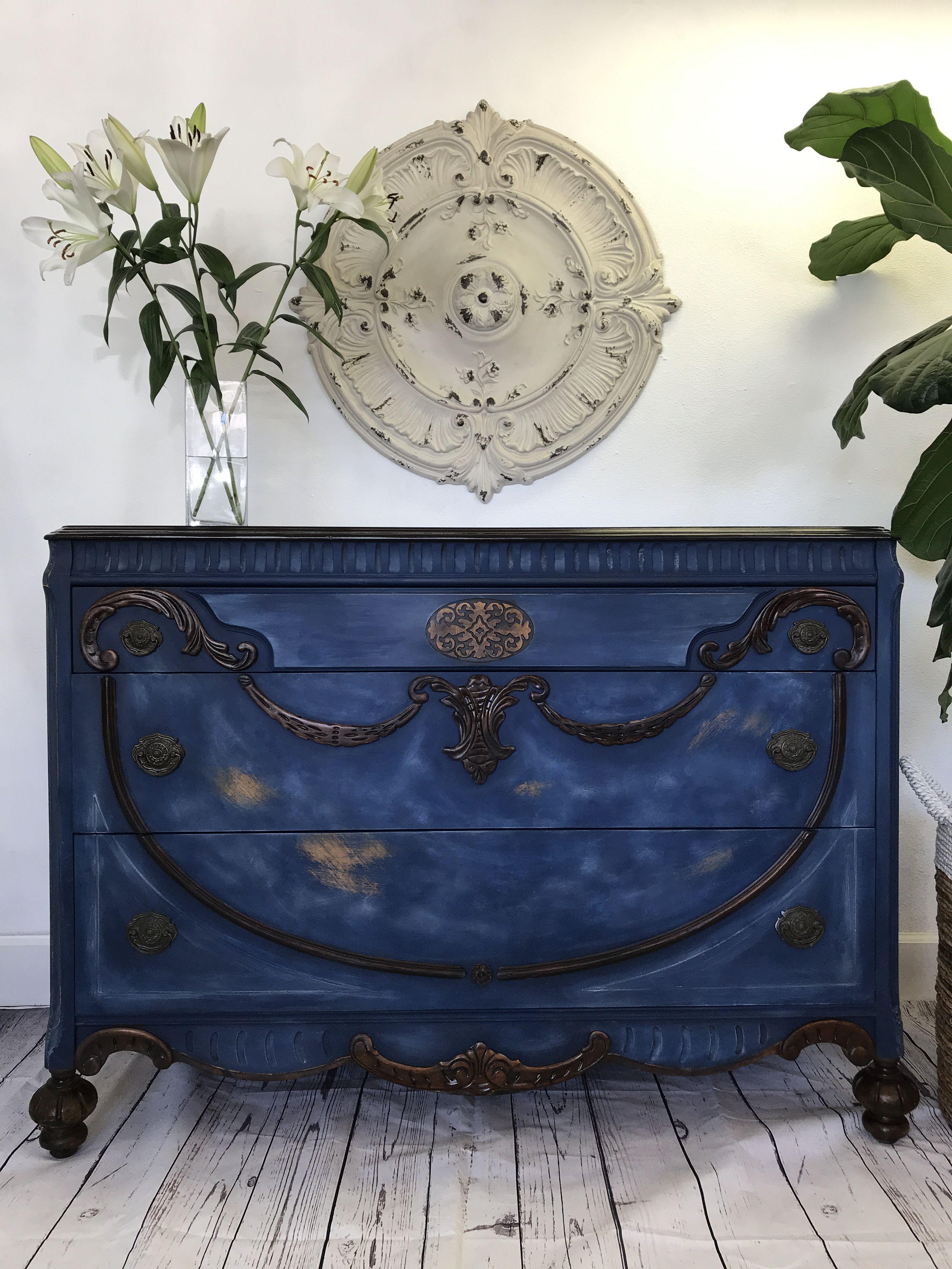 The Perfect Blue Beautiful Furniture Paint Furniture Furniture Makeover [ 4032 x 3024 Pixel ]