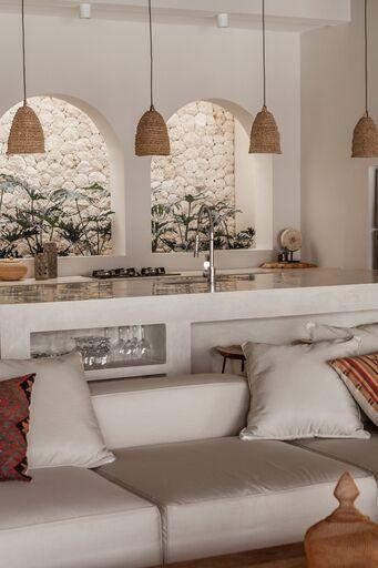 Photo of Villa Massilia – The New Luxury Küchengestaltung mit Naturstein | Beleuchtung Küche