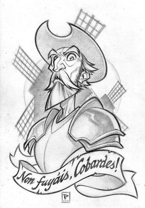 Don Quijote De La Mancha Dibujo Buscar Con Google Don Quijote Dibujo Quijote De La Mancha Don Quijote