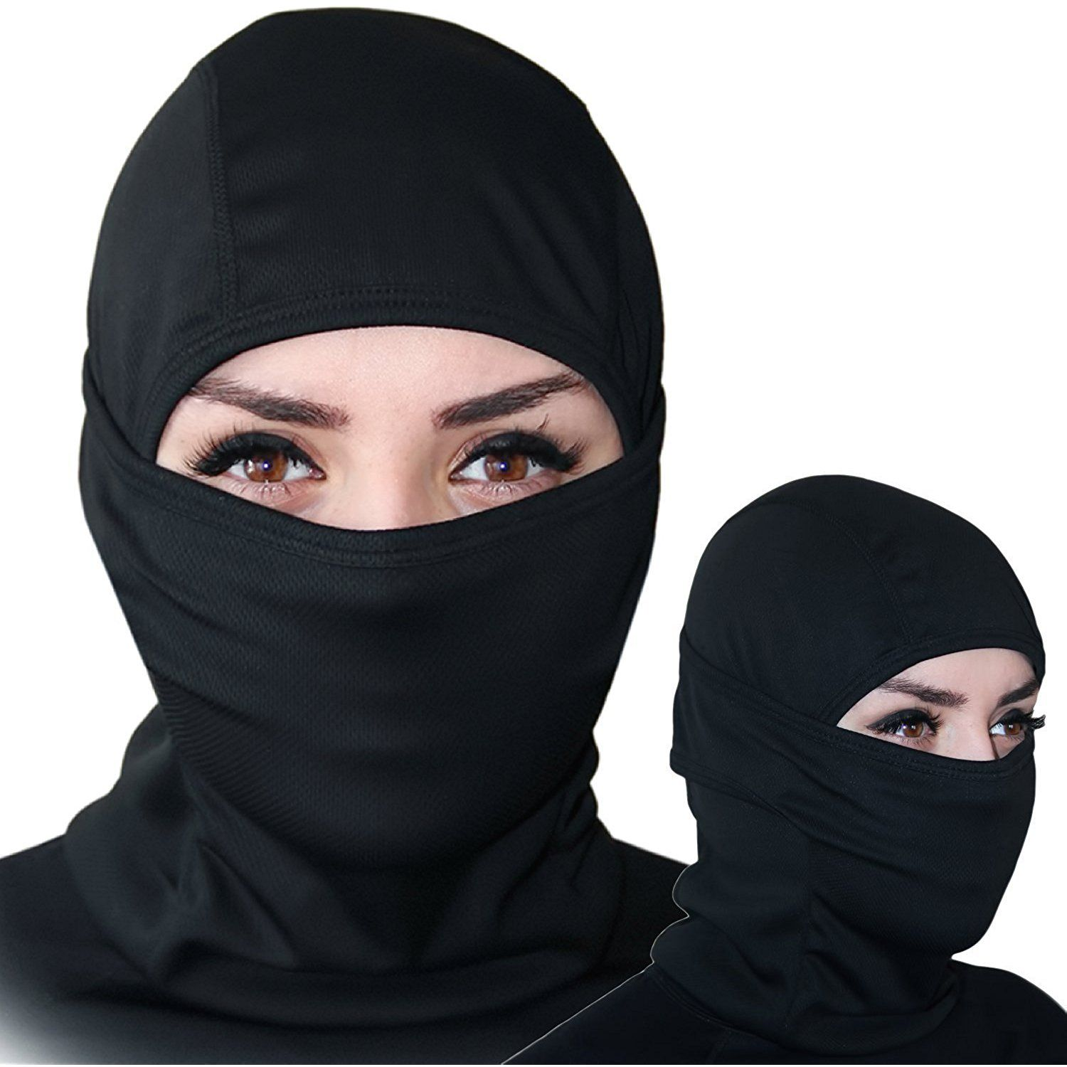 Balaclava - Windproof Ski Mask - Cold Weather Face Mask Motorcycle Neck  Warmer or Tactical Balaclava Hood - Ultimate Thermal Retention in Outdoors  Super ... a1d8a9481