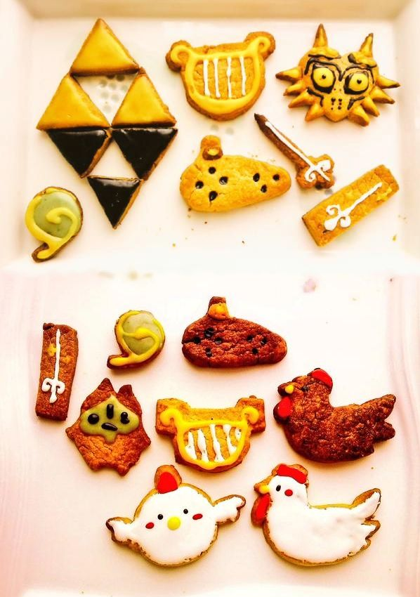 Zelda Mobo Cookies By At Melangekayako Food Drink Zelda