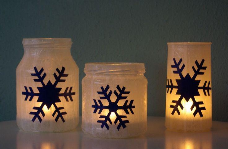 Windlichter-Schneeflocken-Weihnachten-basteln-selber-machen-DIY-Anleitung-dunkel...