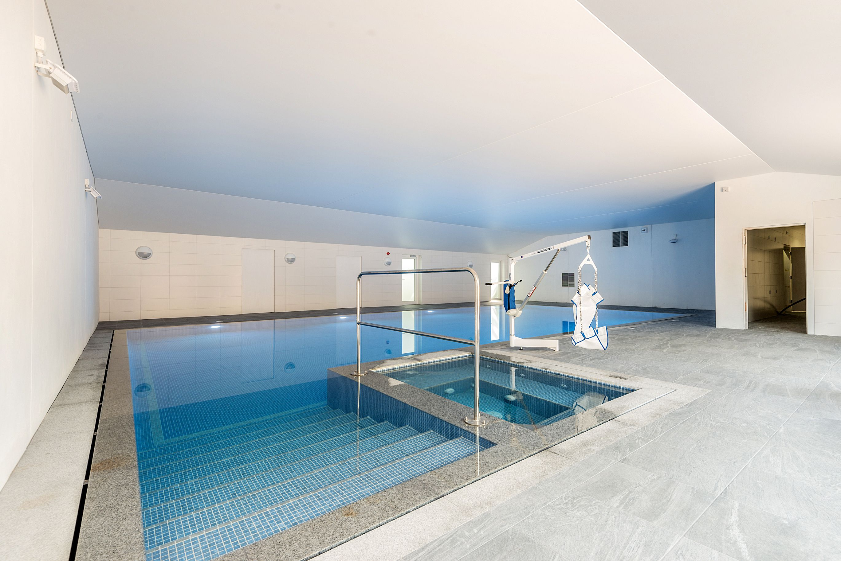 Wallops Wood Swimming Pool With Accessible Hoist Is 13M X