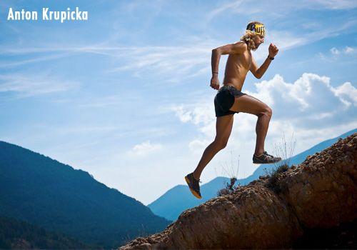 Anton Krupika.  Ultra runner.  Fabulous blog.  http://antonkrupicka.blogspot.com/