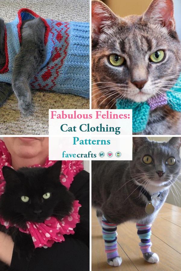 Diy Cat Sweater : sweater, Fabulous, Felines:, Clothing, Patterns, Clothes, Patterns,, Clothes,, Sphynx