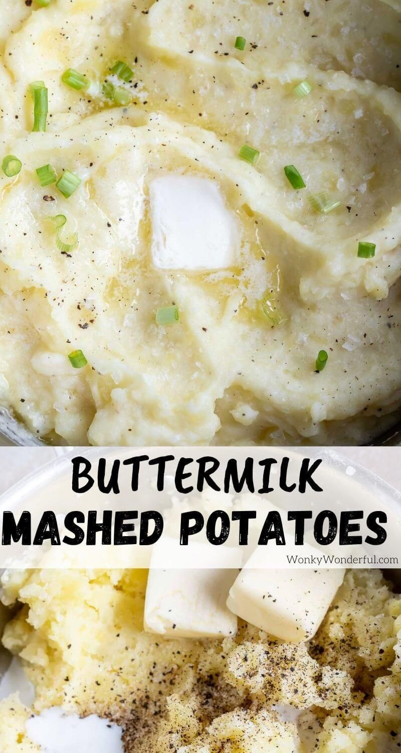 This Buttermilk Mashed Potatoes Recipe Is A Great Addition To Dinner Or Holiday Menus Creamy Mashed Potatoes Wit In 2020 Mashed Potatoes Mashed Potato Recipes Recipes