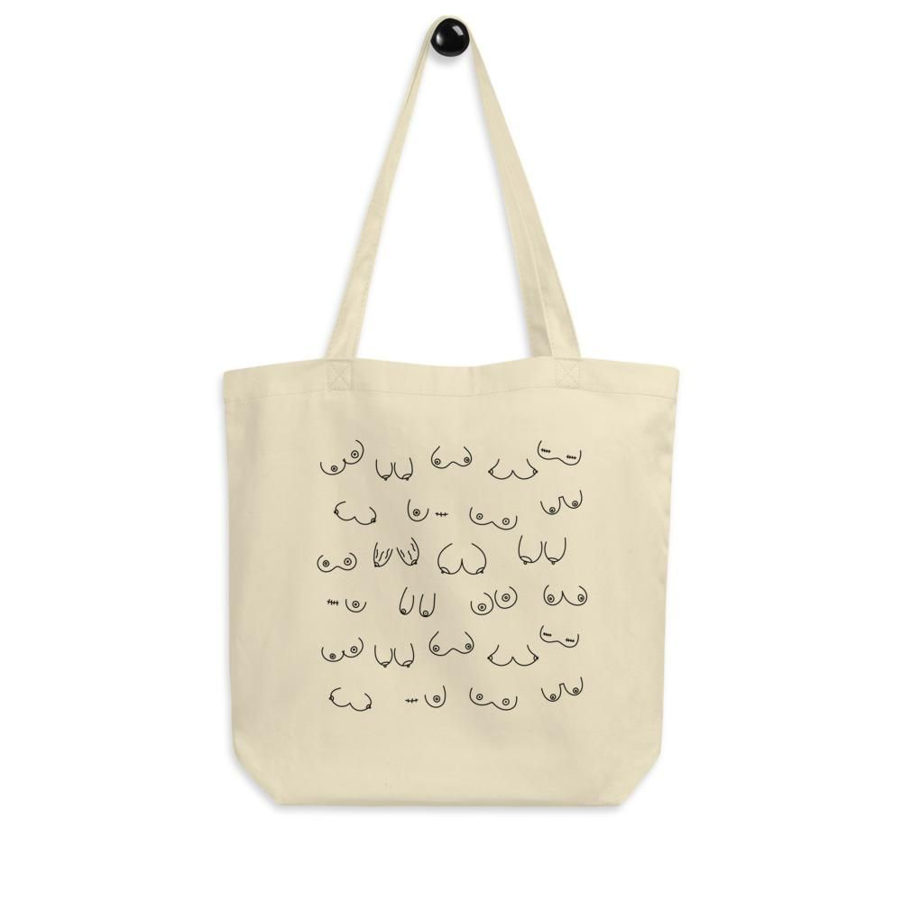 Silly Boobs Eco Tote Bag