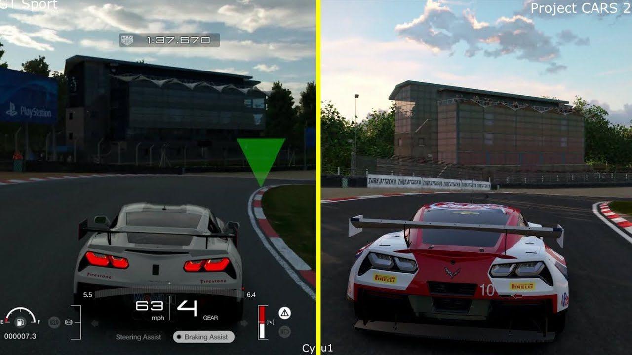 project cars 2 vs gran turismo sport beta ps4 pro graphics. Black Bedroom Furniture Sets. Home Design Ideas