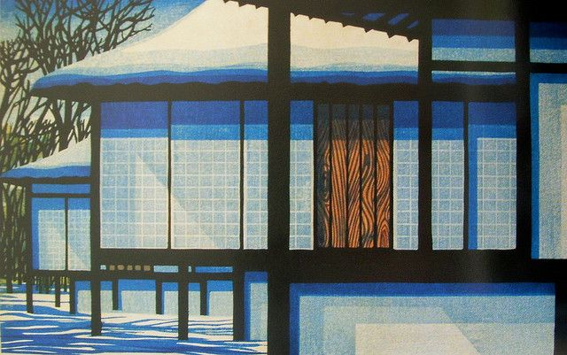 Clifton Karhu 1927-2007 - American printmaker, lived in Japan.