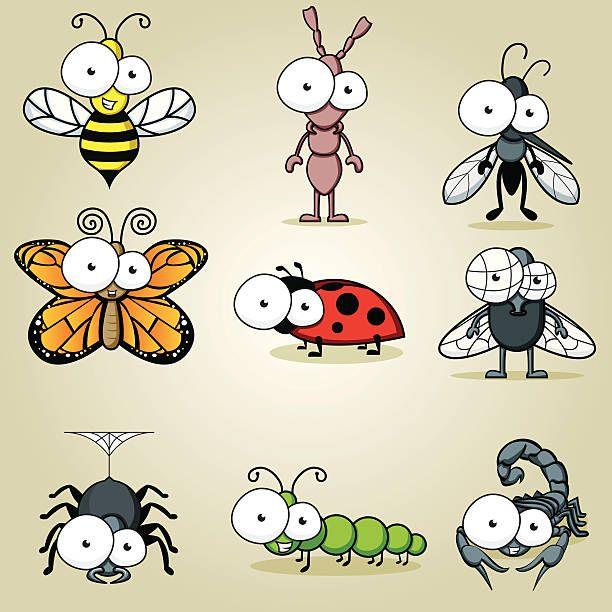 кормила рук рисунки прикольных насекомых этой