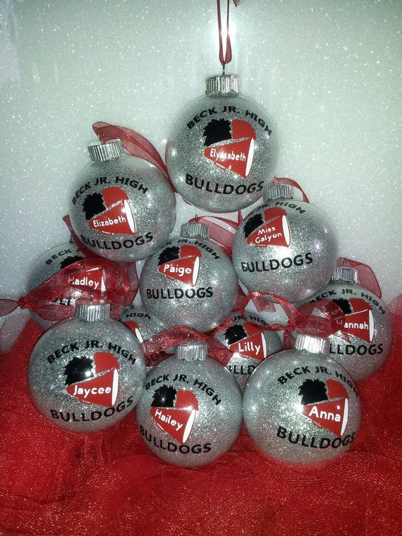 Personalized Cheerleader Christmas ornaments by KikisKornerSC - Personalized Cheerleader Christmas Ornaments By KikisKornerSC
