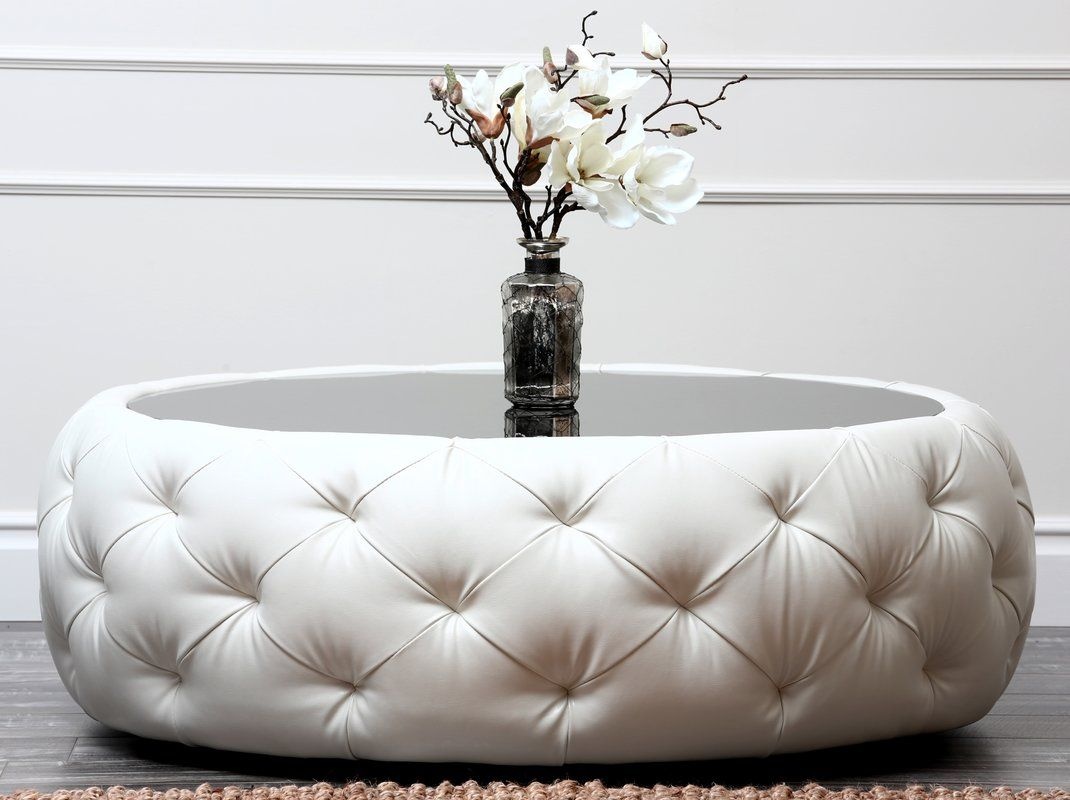 Contemporary Black And White Leather Coffee Table W Black Glass Table Top Leather Coffee Table Buy Modern Furniture Coffee Table [ 768 x 1366 Pixel ]