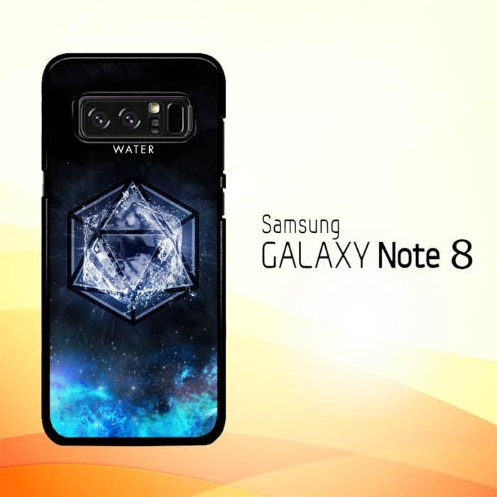 Sacred Geometry Water Symbol L1286 Samsung Galaxy Note 8
