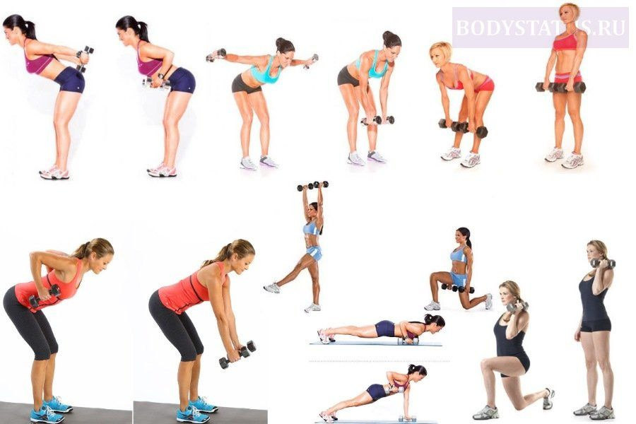 Упражнения Для Похудения Начало И Домами. Похудеть за месяц. Программа тренировок и план питания