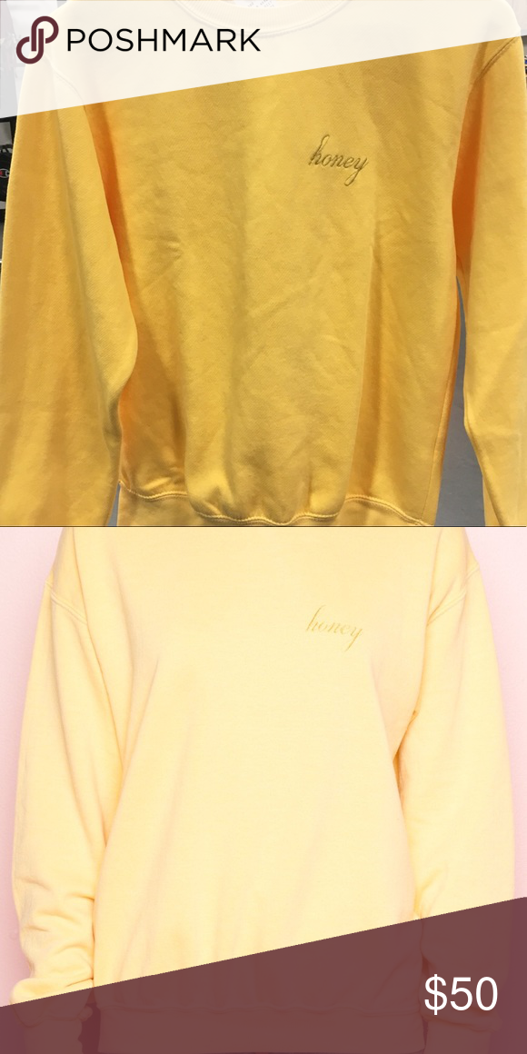 Nwt Brandy Melville Honey Sweater New With Tags Brandy Melville