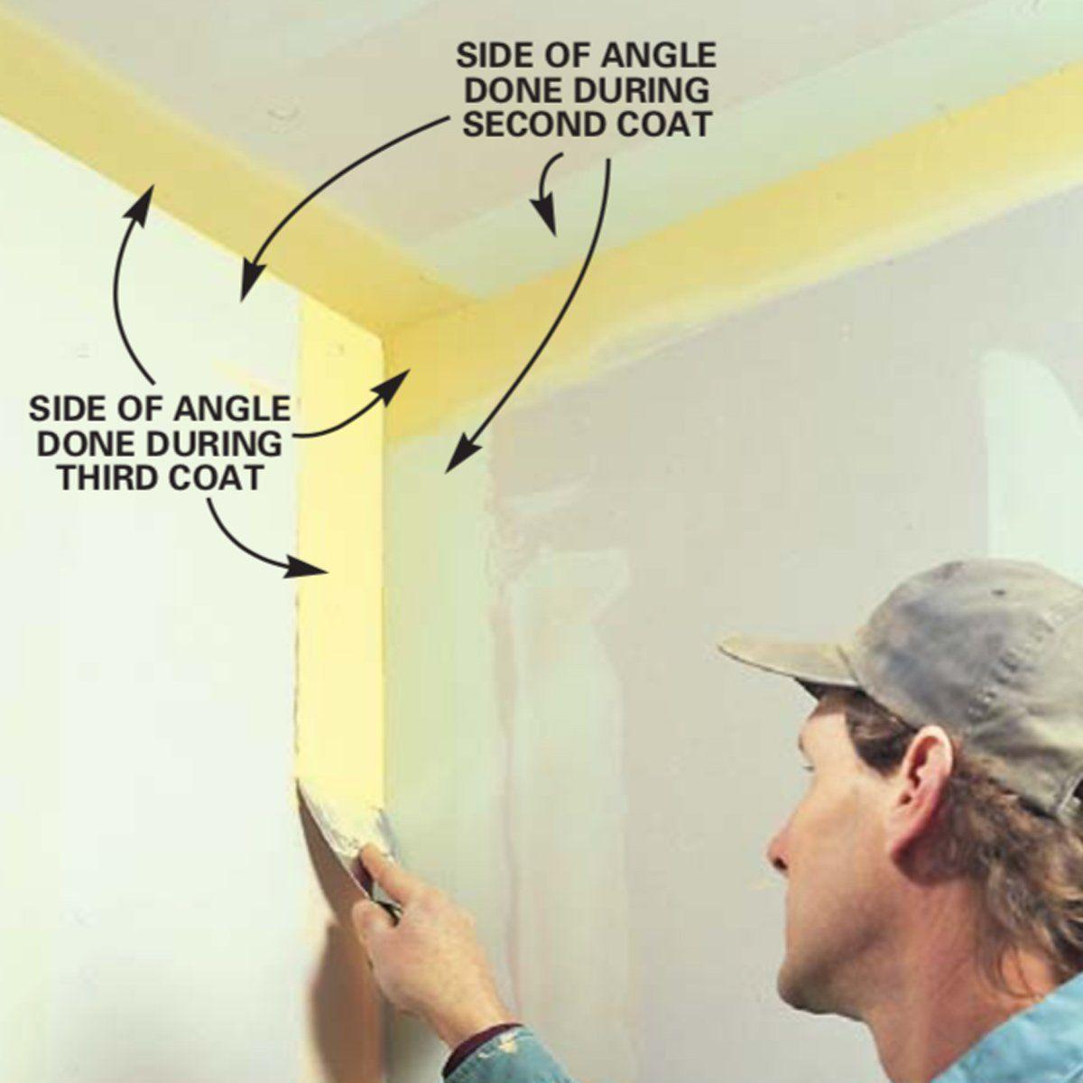How To Tape Drywall Drywall Mud Drywall Diy Plaster
