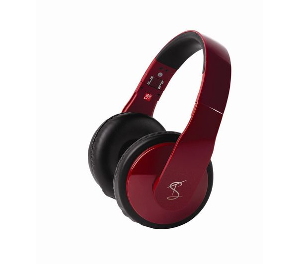 43 Goji Tinchy Gtovred12 Headphones Red