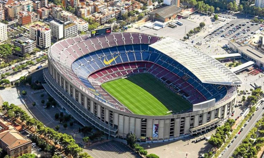 Estadio Nou Camp Barcelona 82 Camp nou, Football