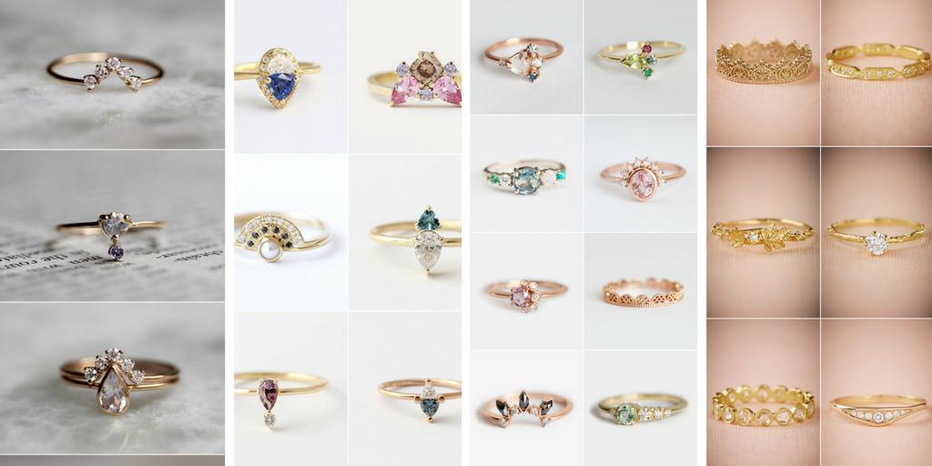 28 Verlobungsringe, bei denen Sie & Ja & sagen wollen #pearljewelry